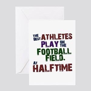 The Best Athletes Greeting Cards