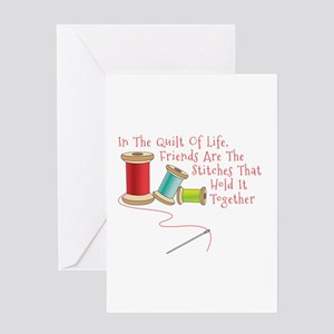 Quilt of Life Greeting Cards