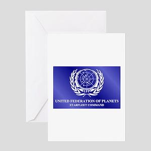 STAR TREK UFP-SFC Greeting Card