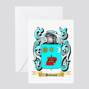 Sultana Greeting Card