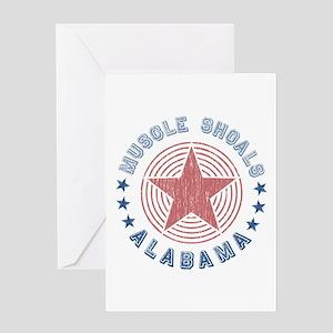 Muscle Shoals, Alabama Souvenir Greeting Card