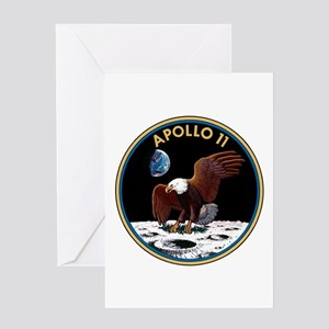 NASA Apollo 11 Insignia Greeting Cards
