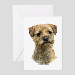 Border Terrier 9A21D-19 Greeting Card