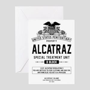 Alcatraz S.T.U. Greeting Card