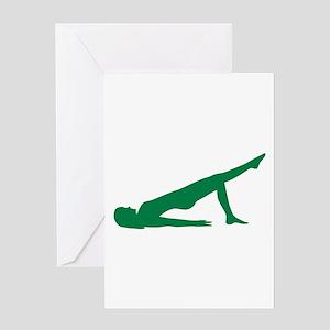 Pilates Greeting Card