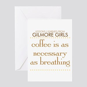 Coffee is Necessary Greeting Card