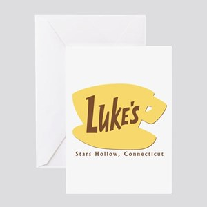 Luke's Diner Greeting Card