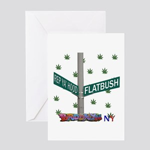 REP FLATBUSH Greeting Card