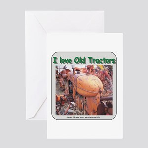 I love old AC tractors Greeting Card