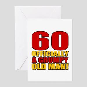 Grumpy 60th Birthday Greeting Card