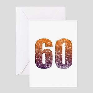 Cool 60th Birthday Greeting Card