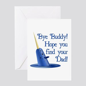 Mr. Narwhal Quote from Elf Greeting Card