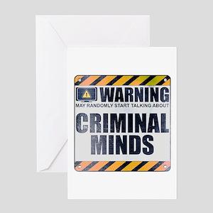 Warning: Criminal Minds Greeting Card