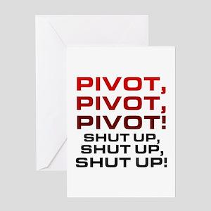 'Pivot!' Greeting Card