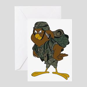 Jason-Chickenhawk-Bonnie-2 Greeting Card