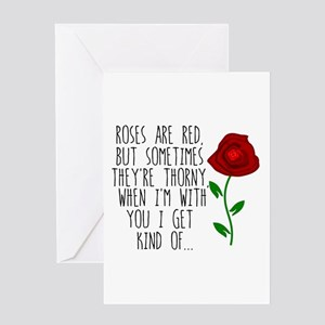 Thorny Greeting Cards