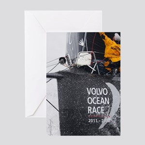 Volvo Ocean Race Greeting Card