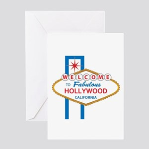 Welcome to Hollywood Greeting Card