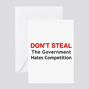 Don't Steal Greeting Card