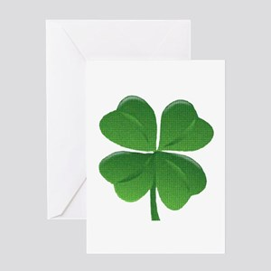 St Patrick Shamrock T Greeting Cards