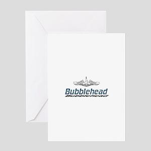 Bubblehead Greeting Card