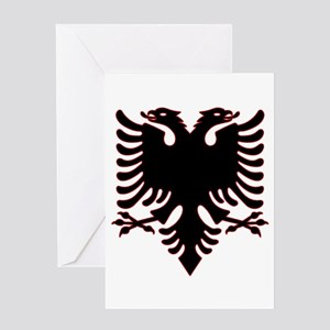 Albanian Eagle Greeting Cards
