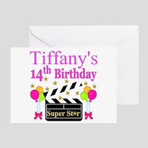 14TH BIRTHDAY Greeting Card