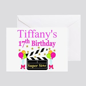 PERSONALIZED 17TH Greeting Card