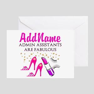 BEST ADMIN ASST Greeting Card