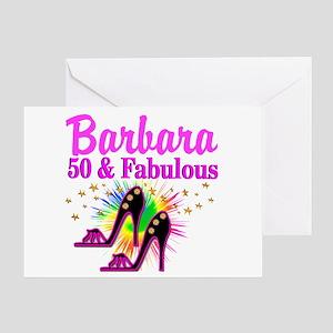 FANTASTIC 50TH Greeting Card