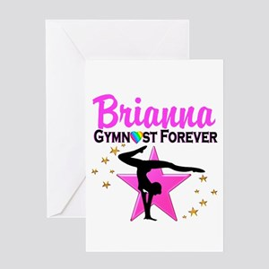 GYMNAST FOREVER Greeting Card