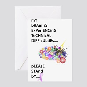 Tech Difficulties Greeting Cards