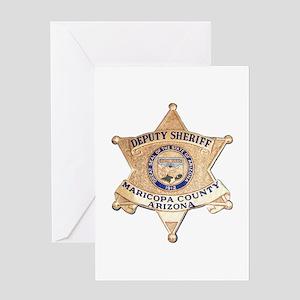 Maricopa County Sheriff Greeting Card