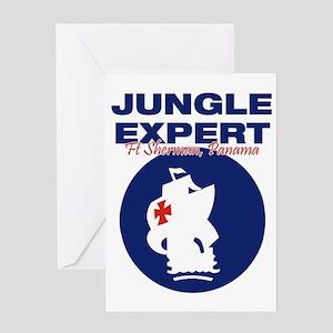 JungleExpert001 Greeting Card