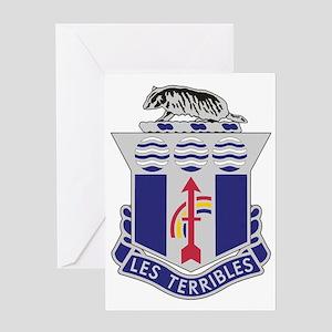 ARNG-127th-Infantry-Crest-Bonnie Greeting Card