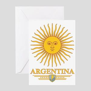 Argentina Sun Greeting Card