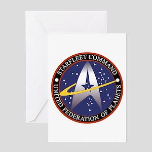 Starfleet Command Emblem Greeting Card