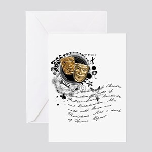 The Alchemy of Theatre Production Greeting Card