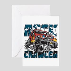 Rock Crawler 4x4 Greeting Card