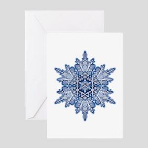 Snowflake 11 Greeting Card