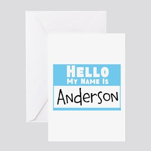Personalized Name Tag Greeting Card