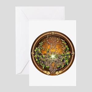 Sacred Celtic Trees - Vine Greeting Card