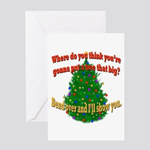 Griswold Christmas Tree Greeting Card
