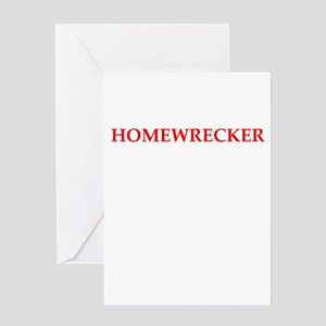 Homewrecker Card Greeting Cards