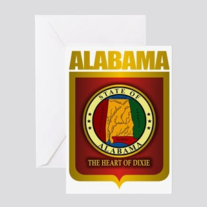 Alabama (Gold Label)2 Greeting Card