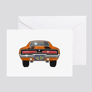 1969 Charger Bumper Greeting Card
