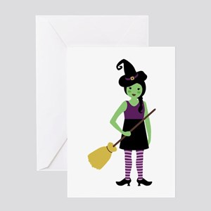 Magic Witch Greeting Cards