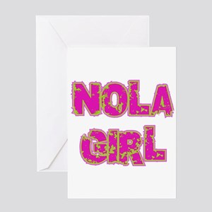 NOLA Girl Greeting Card
