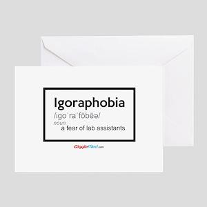 Igoraphobia 02 Greeting Cards