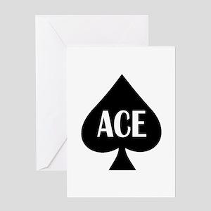 Ace Kicker Greeting Card